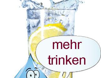 Tipp der Woche – Mehr Wasser trinken