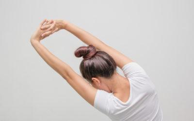 Fokus kleine Rückenmuskulatur